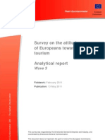 Survey on the Attitudes of Europeans Towards Tourism 2011