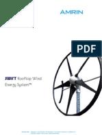 Brochure Swift Wind Energy System Amrin Bv