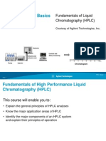 Fundamentals of HPLC