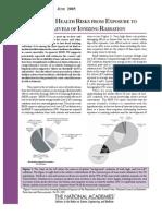 BEIR VII Preliminary Report
