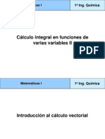 Calculo Integral Varias Variables II