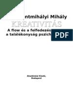 Csíkszentmihályi Mihály - Kreativitás