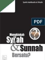 Mungkinkah Syiah & Sunnah bersatu?