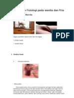 Anatomi Dan Fisiologi Pada Wanita Dan Pria