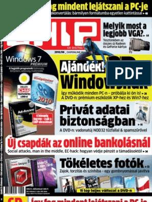 Mérkőzéskészítő szoftver ingyenesen letölthető a Windows 7 64 bites verziójára