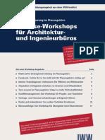 Inhouse-Workshops für Architektur- und Ingenieurbüros