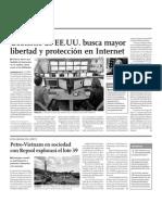 Gobierno de EE.UU. busca mayor libertad y protección en Internet