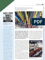 Referenzbericht der Agentur vibrio Zum Logistikmarkt