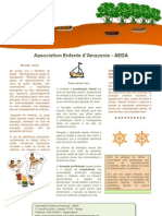 Brochura do projeto Iandê em português do Brasil