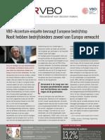 VBO–Accenture-enquête bevraagt Europese bedrijfstop