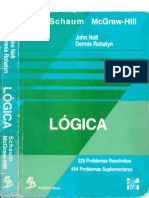Lógica - John NOLT; Dennis ROHATYN