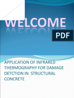 Application of Infrared Thermography for Damare Detction19
