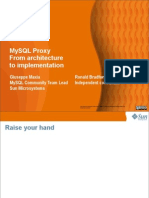 MySQL Proxy_ From Architecture to Implementation Presentation