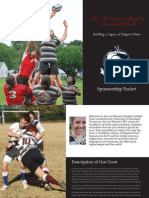 Rugby Sponsorship Packet