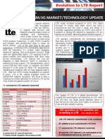 GSA Evolution to LTE Report 120111