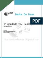 Dados de Deus - Resolução 1o simulado ITA (Matemática)