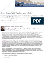 JPF What Form Will the Recovery Take National Journal Blog 21.04.09