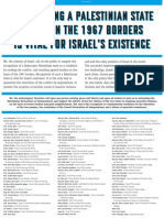 An English copy of the advert that appeared in Yedioth Ahronoth on 18th May 2011