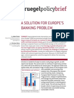 BruegelPolicyBrief Europe s Banking Problem 110609