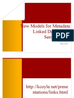 New Models of Metadata