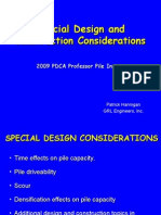 Special Design and Construction Considerations