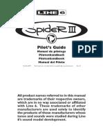 Line6 Spider3 Guitar Amp Manual