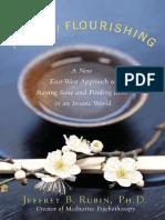 The Art of Flourishing by Jeffrey B. Rubin, Ph.D - Excerpt