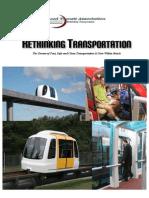 Rethinking Transportation - Advance Transit Association