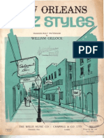 New Orleans Jazz Styles - William Gillock