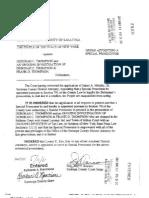 Thompson Documents