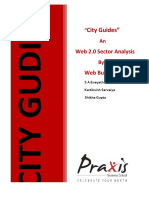 Whitepaper on City Guide 2 0