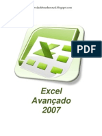 APOSTILA DE EXCEL AVANÇADO 2007 DO BLOG
