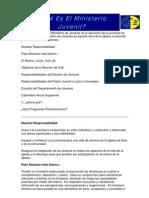 Objetivos y Planificacion de Ministerio Ja