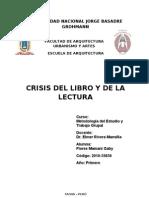 11 Crisis Del Libro y de La Lectura