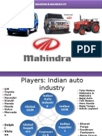 MAHINDRA & Mahindra analysis