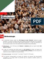 Buzz Politique - 18 Mai 2011