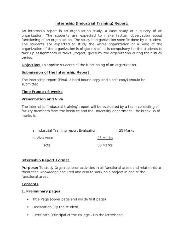 Internship Report Format[1] | Data Analysis | Newspapers