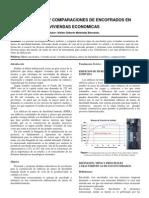 Tecnologías y Comparaciónes de Encofrados en Viviendas Económicas