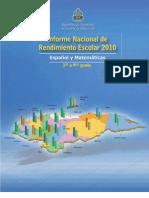 Educacion Informe Nacional de 2011