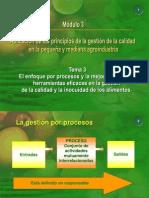 Aplicación de los ppios de la gestión de la calidad