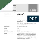 AdBlue Dati Tecnici GB Physical Props