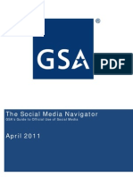 GSA Social Media Navigator