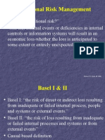 operational risk mgt