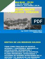 RESIDUOS SOLIDOS-ICA-2008