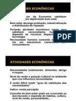 2011 - Aula 2 - Atividades Econômicas