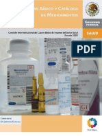 Cuadro Basico Medicamentos 2009
