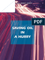 Saving Oil