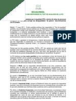 2011-05-17 NotaPrensa TestDeIgualdad