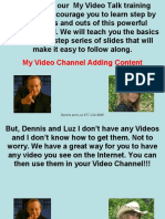 12 Video Channel Content