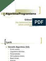 Genetic Algoritma Surum 1 5